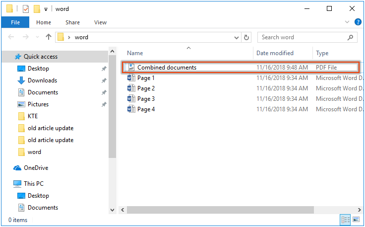 Combine multiple png files into one pdf