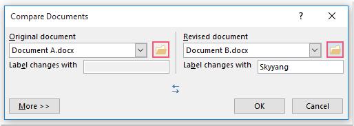doc compare two files 2