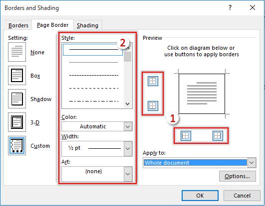 Comment Ajouter Une Bordure Aux Pages D Un Document Word
