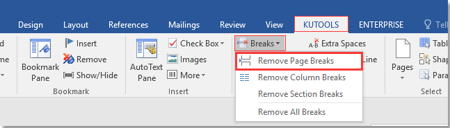 doc remove page breaks 10