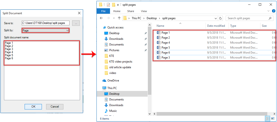 How To Save Word As Pdf >> How To Save Each Page As Separate Pdf Files In A Word Document