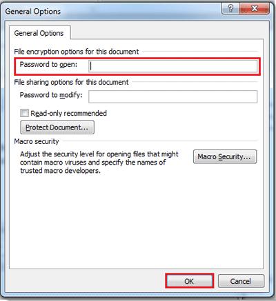 un encrypt microsoft word document