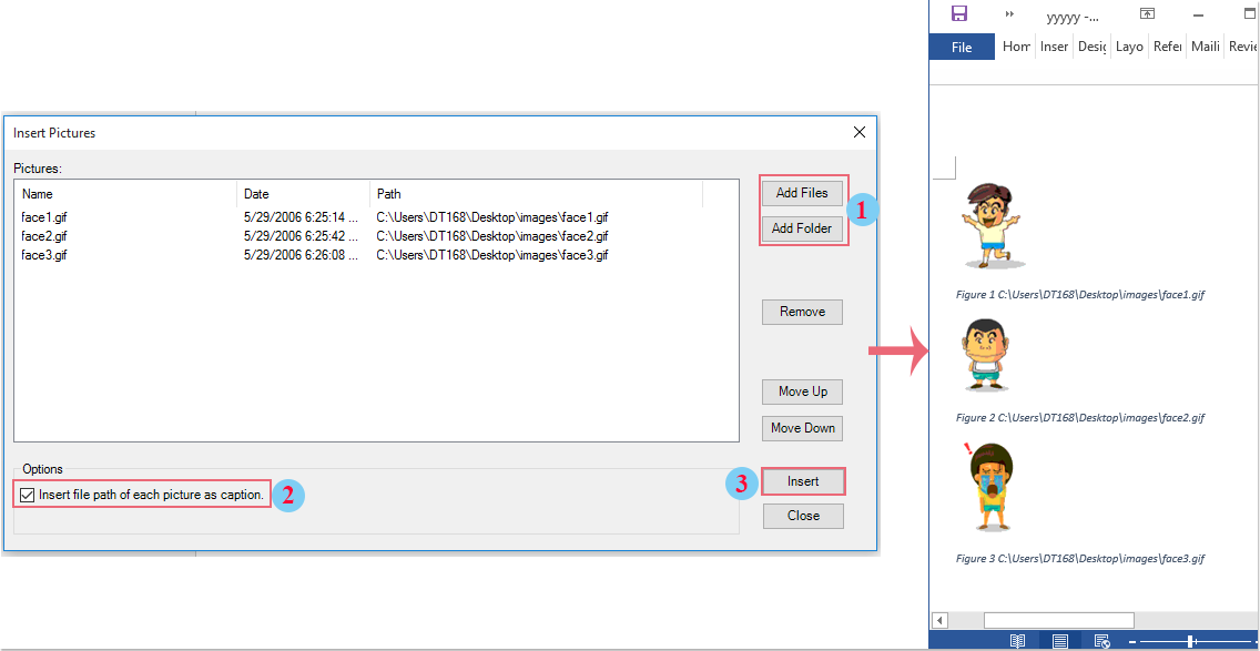 doc insert images with filename 6