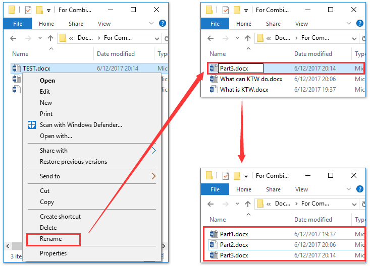 How to merge multiple documents and keep format in word?