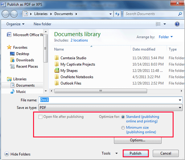 Technology Management Image: How To Save Document As A PDF In Word?