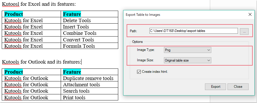 doc convert table to image 7