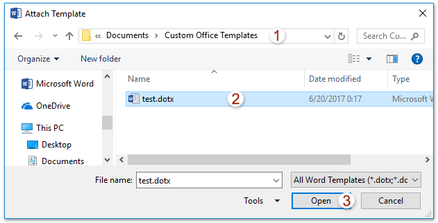 microsoft word office templates
