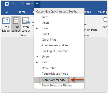 How to copy outline (headings) only in Word?