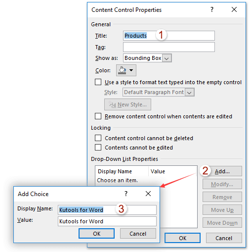how to add a drop down box in word - Madran kaptanband co