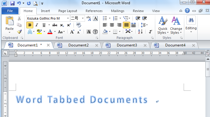 word-tabbed-document