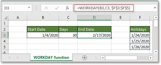 doc add business days to date 5
