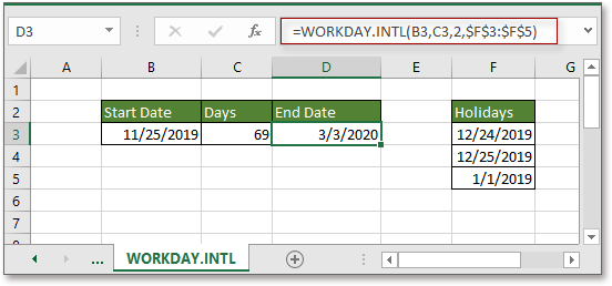 doc add business days to date 7