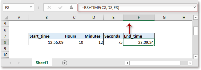 doc add hours minutes seconds 3