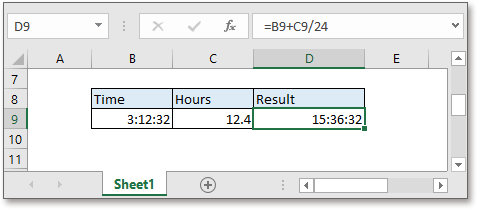 doc add hours to time 3