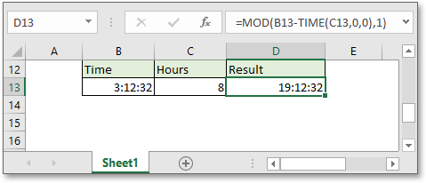 doc add hours to time 4
