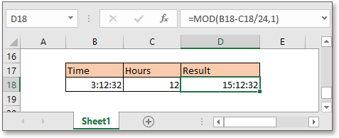 doc add hours to time 6