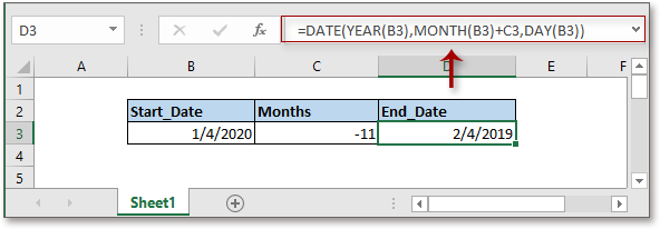 doc add months to date 2