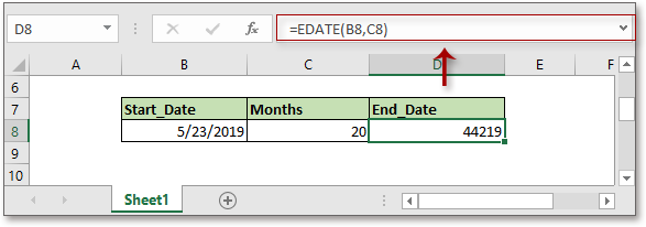 doc add months to date 3