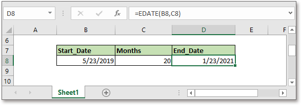 doc add months to date 5