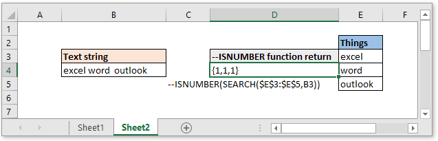 doc check if cell contain all of many things 5