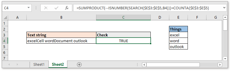 doc check if cell contain all of many things 7