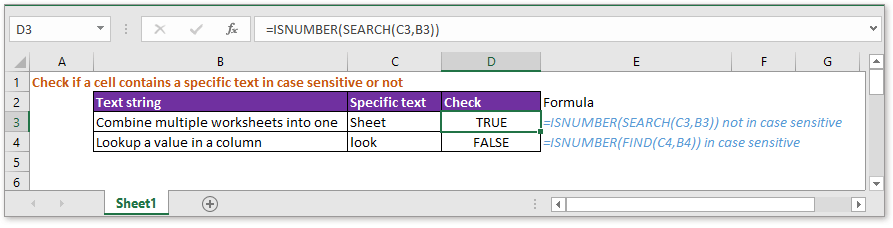 doc check if cell contains specific text 1