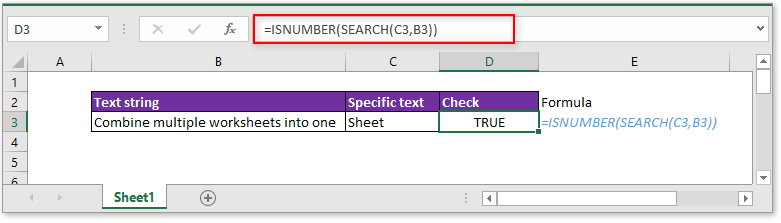 doc check if cell contains specific text 2