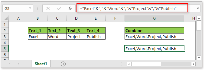doc combine cells with comma 3