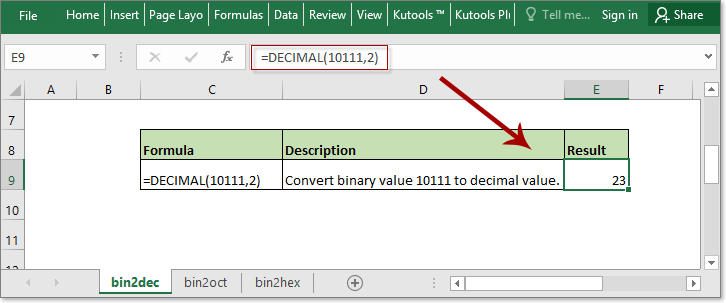 doc convert binary to decimal hex octal 3