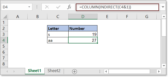 convert letter to number 3