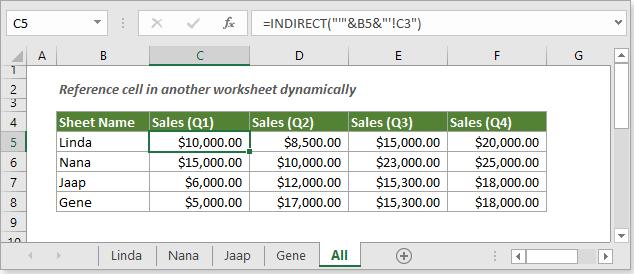 Excel dynamic worksheet or workbook reference