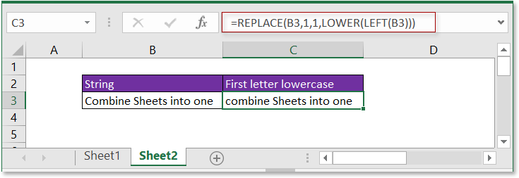 doc first letter lowercase 2