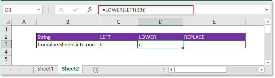 doc first letter lowercase 4