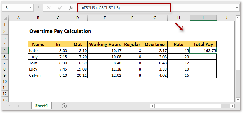 doc calculate overtime pay 2