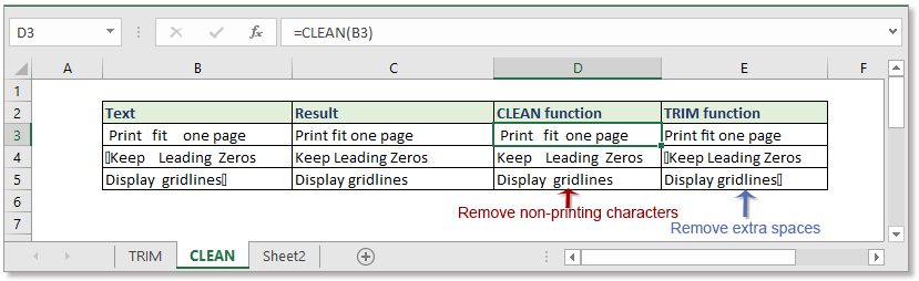 doc remove leading trailing spaces 4