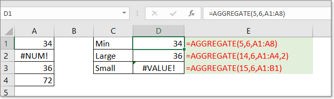 doc aggregate function 2