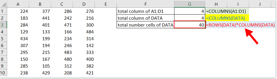 colonnes de documentation fonction 3
