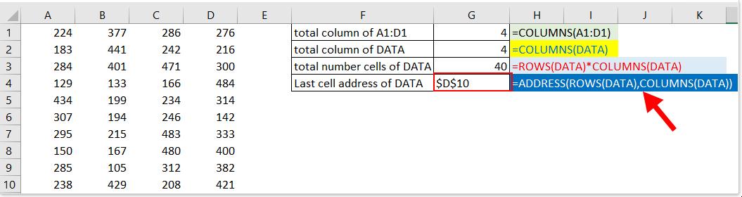 colonnes de documentation fonction 4