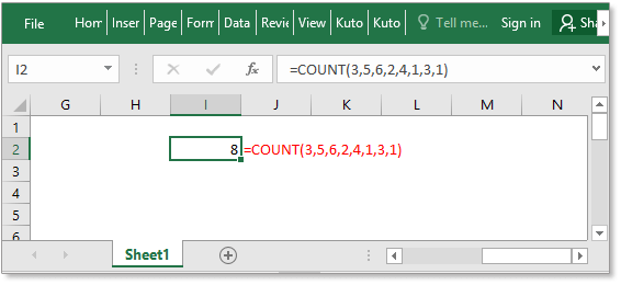 doc count function 3