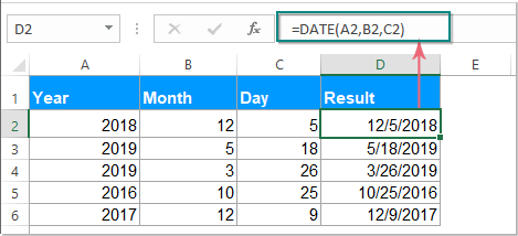 функция даты документа 1