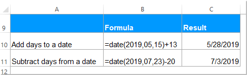 doc date function 3