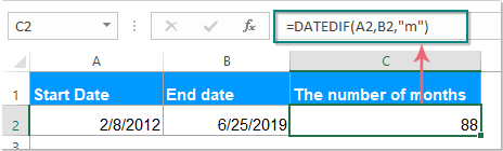 doc datedif function 2