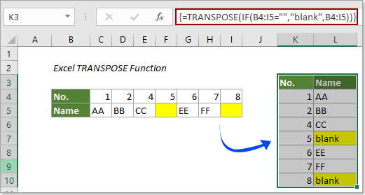 Transpose On Excel For Mac
