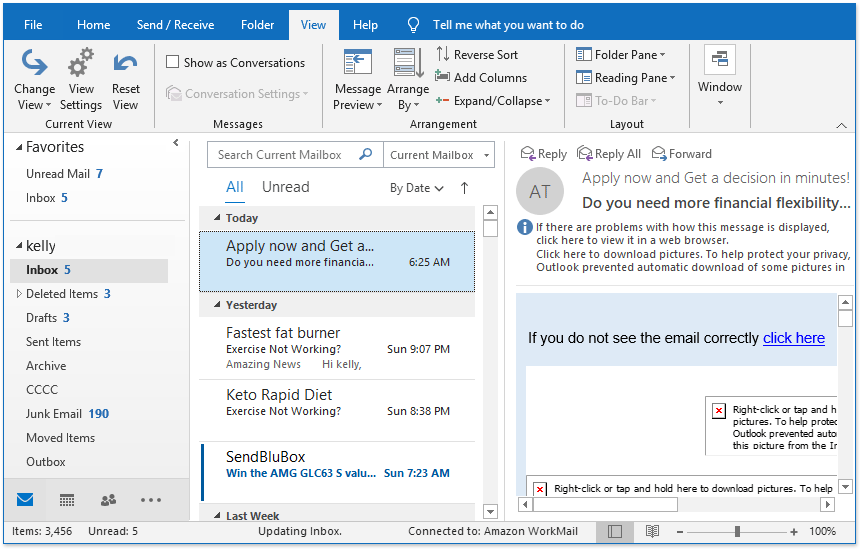 doc outlook 2019