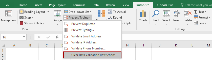 shot clear data validation 1