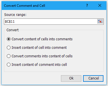 shot convert comment and cell 02