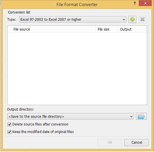 shot конвертира формат на датотека 001