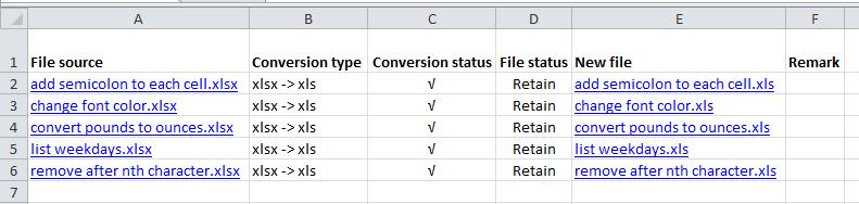 shot конвертира формат на датотека 005