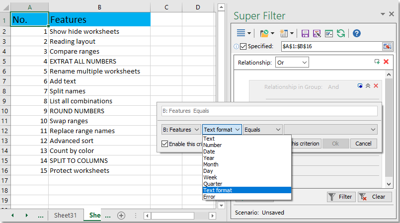 shot super filter 003