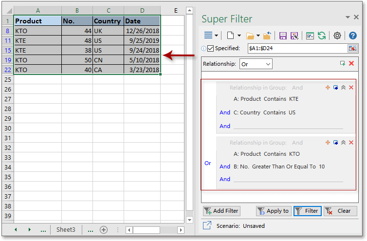 shot super filter data 3